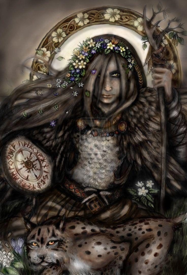 Freja(Freya) by hailmust on DeviantArt
