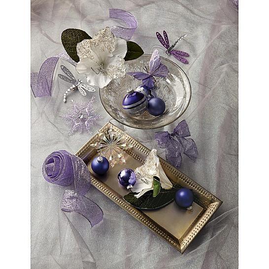 Jaclyn Smith Winter Wishes Christmas Tree Trim Kit