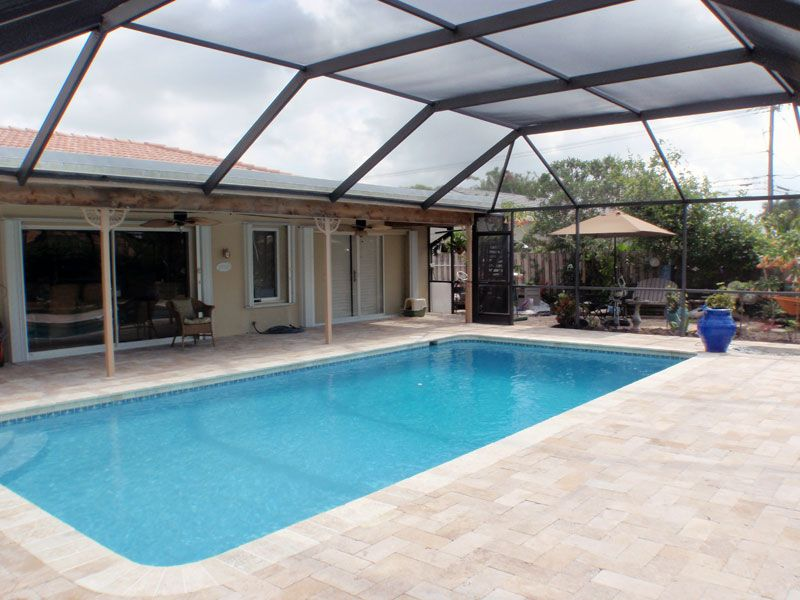 travertine tile pool deck | for the home | pinterest | travertine