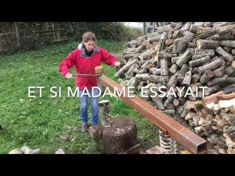 Fendeuse Bois Manuelle Ecologique Youtube Fendeuse A Bois Bois De Chauffage Stockage De Bois De Chauffage