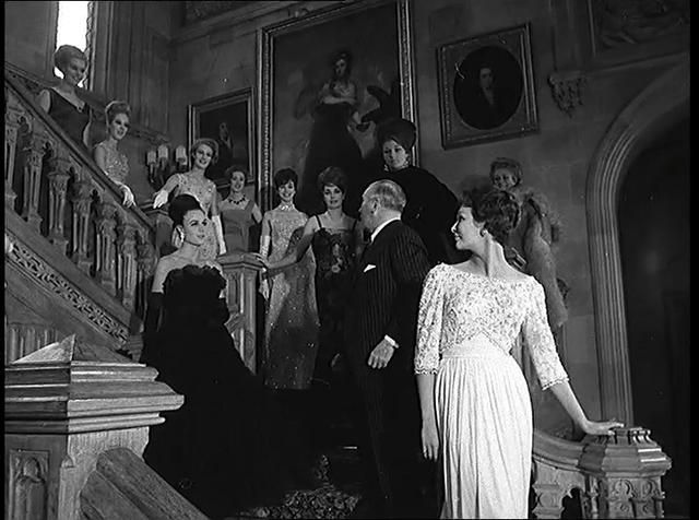 Fashions in a Castle © Pathé News. Norman Hartnell's ...