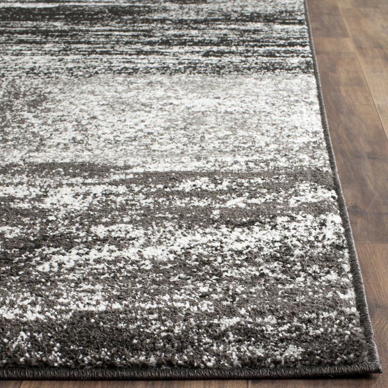 Costa Mesa Silver Black Area Rug In 2019 Floors And Rugs