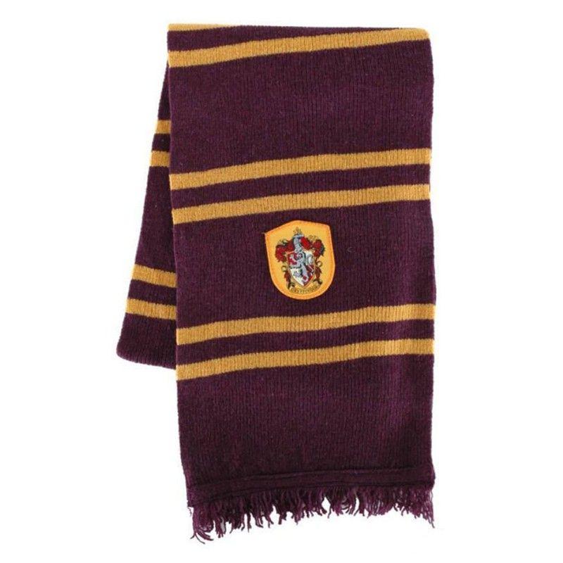 7355680af5d Echarpe Harry Potter Ecole Gryffondor Deluxe