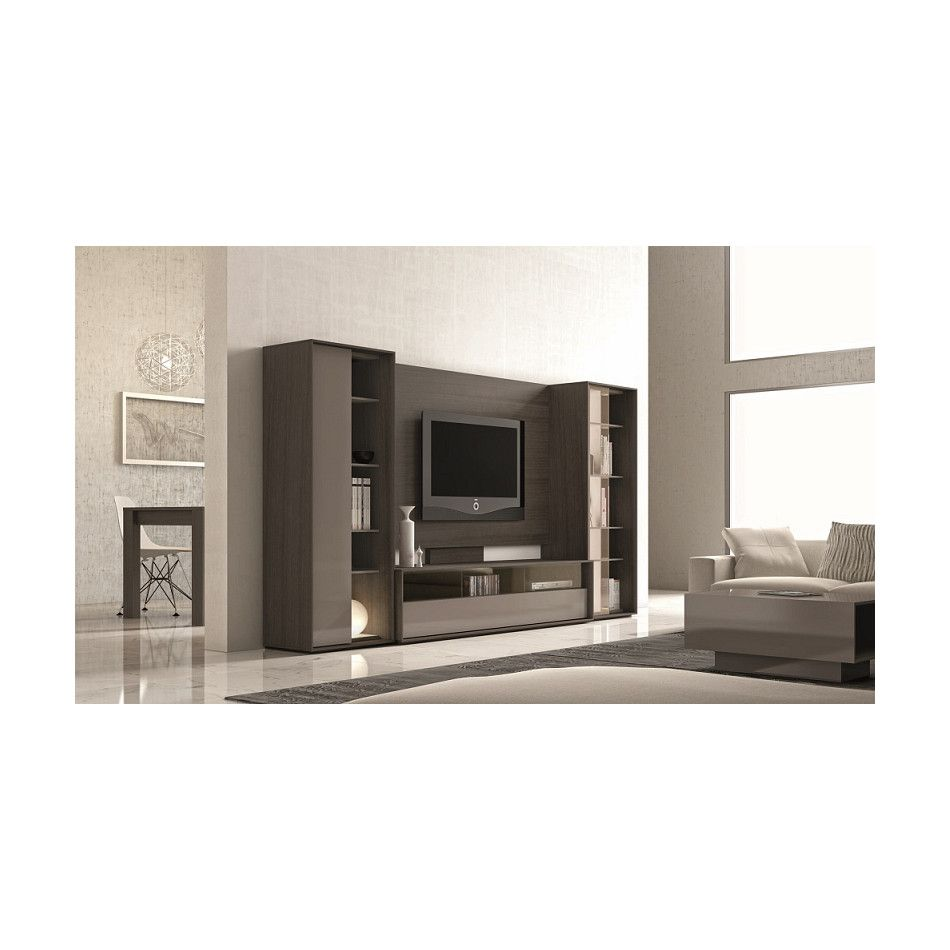 J M Furniture 220 Wall Tv Unit Wall Tv Tv Unit And Wood Veneer # Muebles Fiasini