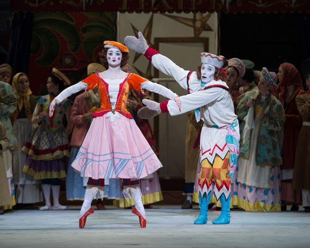 Resultado de imagem para Petrushka ballet