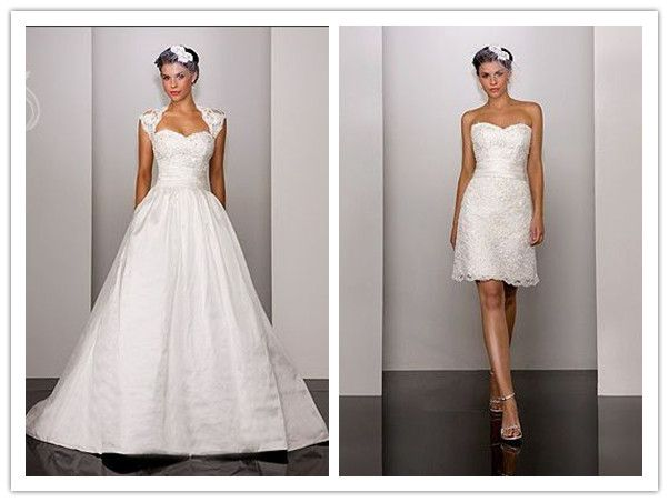 6d71fcd2466d My Wedding Dress  2 In 1 Wedding Dresses - One Dress Two Styles ...