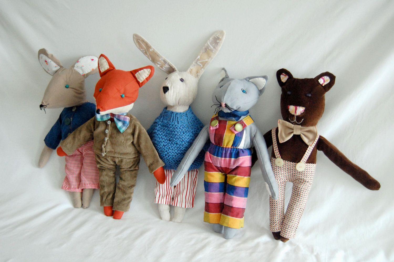 Fantastic Mister Fox Mr Fox Stuffed Toy Fox Free Shipping Etsy 25 00 Via Etsy Fantastic Mr Fox Handmade Soft Toys Fox Nursery