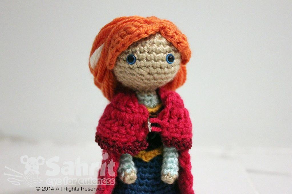 (4) Name: 'Crocheting : Ice Princess Amigurumi Doll Chrochet