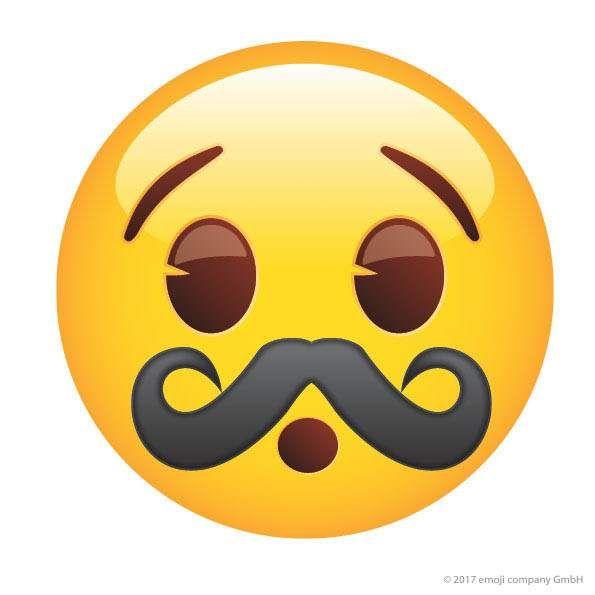 Emoji Hipster Mustache Man Icon Emoji Backgrounds Funny Emoticons Emoji