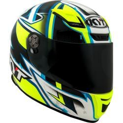 Photo of Kyt Kr-1 Lightning Helm Weiss Blau Gelb Xs Kyt