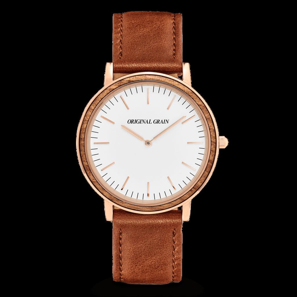 f35840af29c95 Matte Black · Wood Watch · Dress Watches · Zebrawood   Rosegold Minimalist  Beautiful Watches
