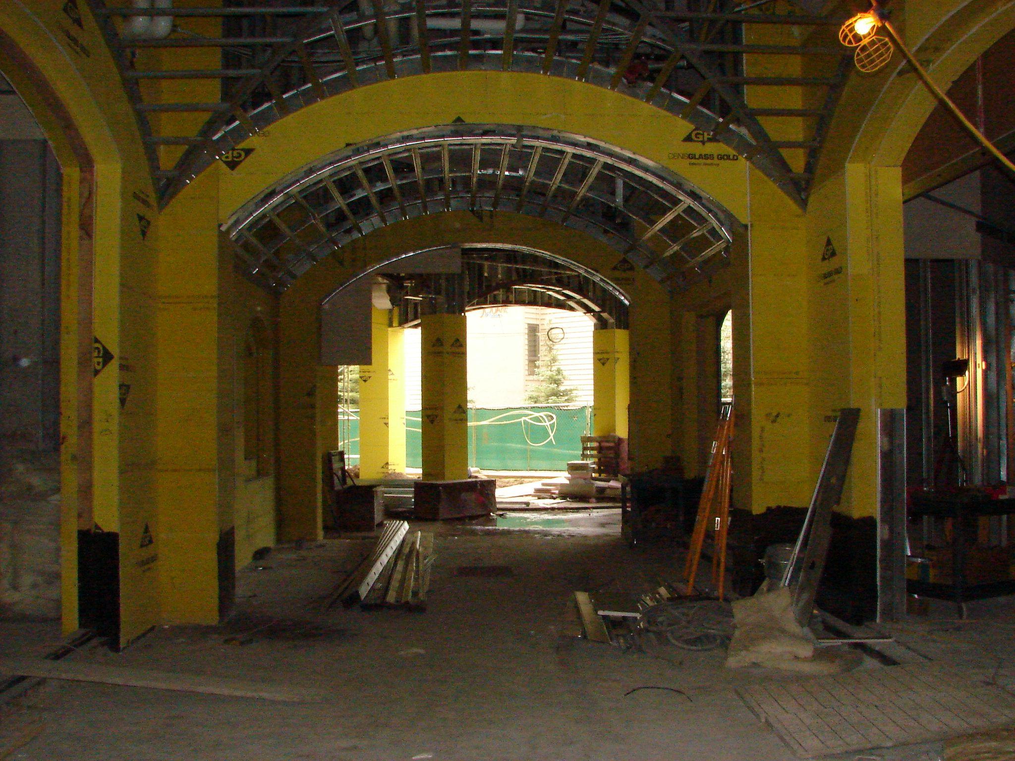 Lobby Interior construction #Arrabelle