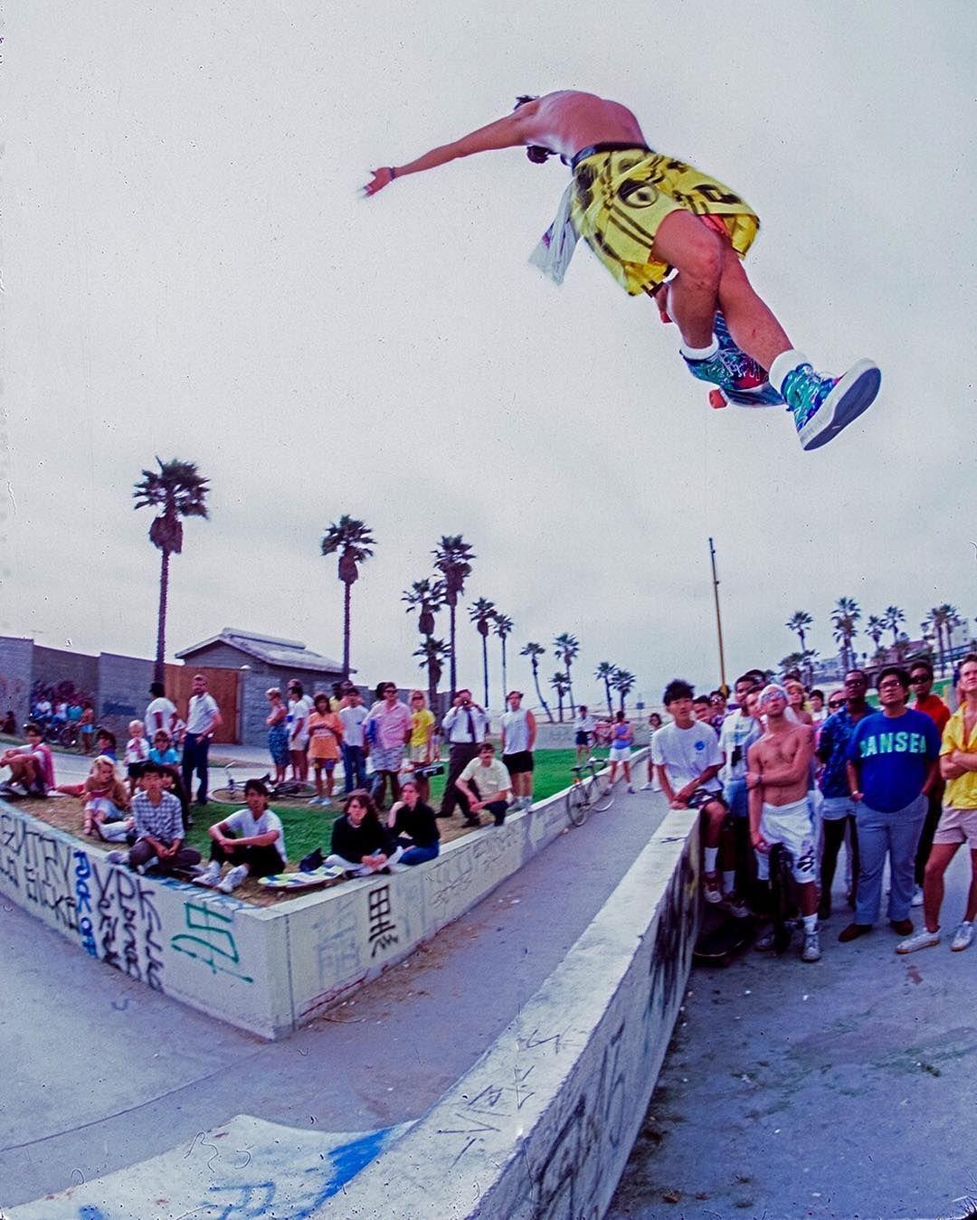 HOSOI.. Venice Skatepark 1988. Ckatz. @christianhosoi @hosoiskateboards @cbkatz #venicebeach #veniceoriginal #dogtown #zboys by cbkatz