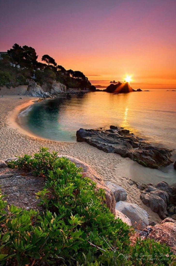 Playa d%u2019Aro, Girona, Spain