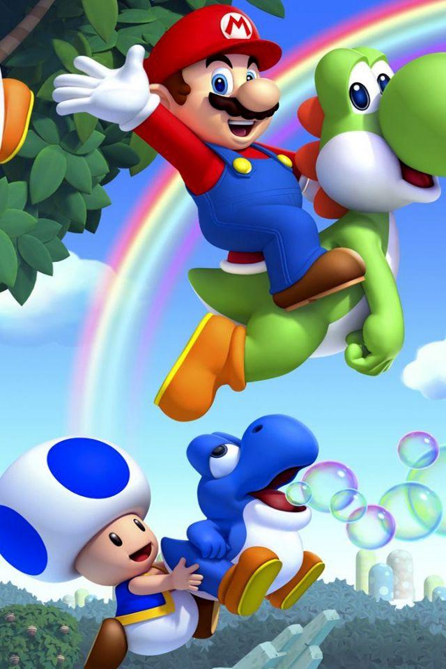 Mario Bros Wallpapers 640x960