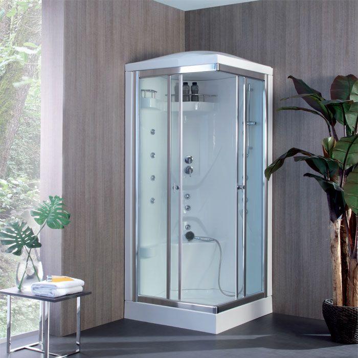 Cabina multifunzione quadrata K2 80x80 Cabina doccia
