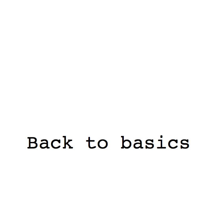 go back to basic simplify focus shorten the to do list never enough words pinterest. Black Bedroom Furniture Sets. Home Design Ideas