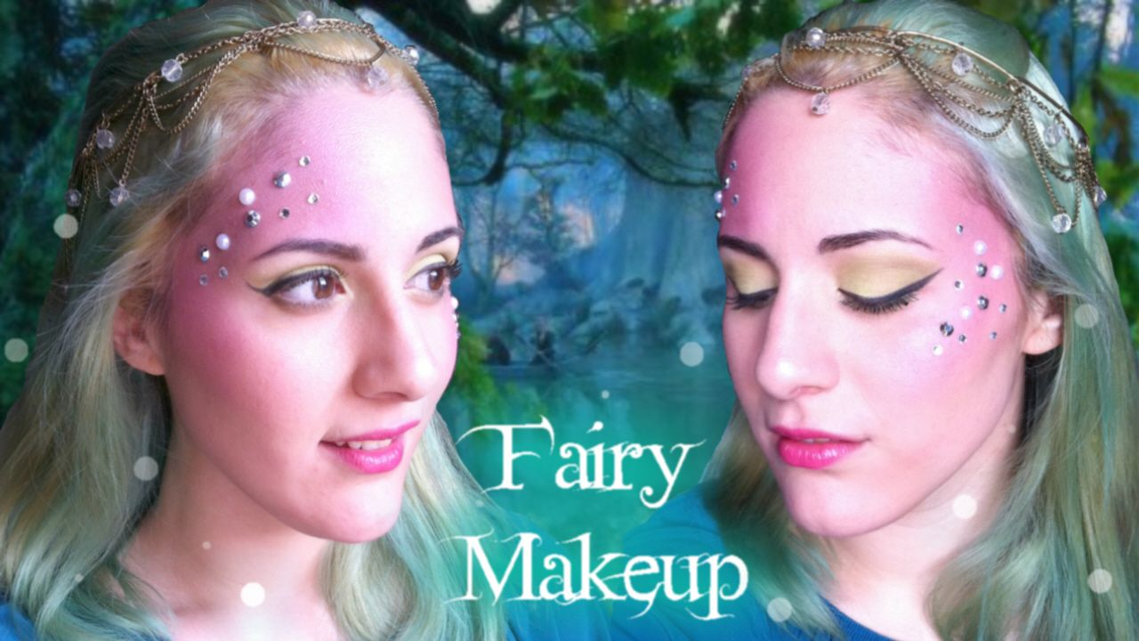 Fairy nymph or mermaid makeup tutorial fairy fairymakeup super easy fairy nymph or mermaid makeup tutorial baditri Image collections