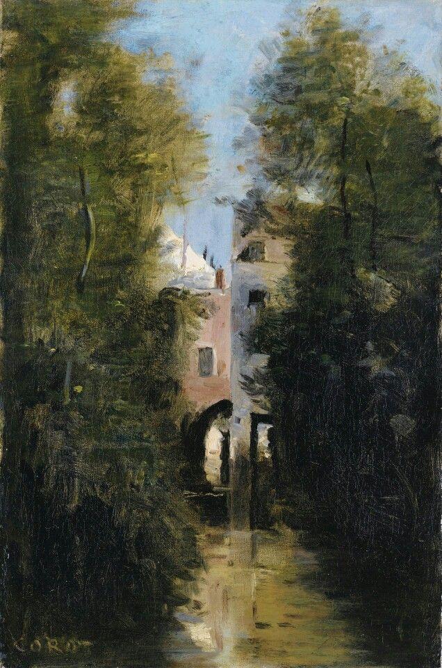 Le Moulin sur le Thrain  Beauvais JeanBaptisteCamille