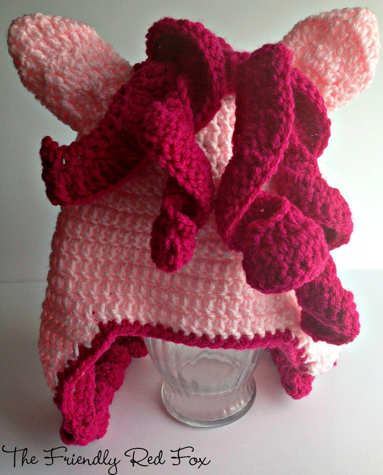 Free Crochet Little Pony Hat | Gorro tejido y Tejido