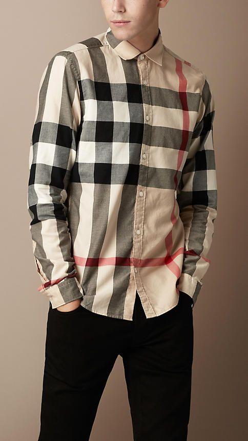 c15e074785 Men's Clothing | Fashionable | Burberry shirt, Burberry shirts for ...