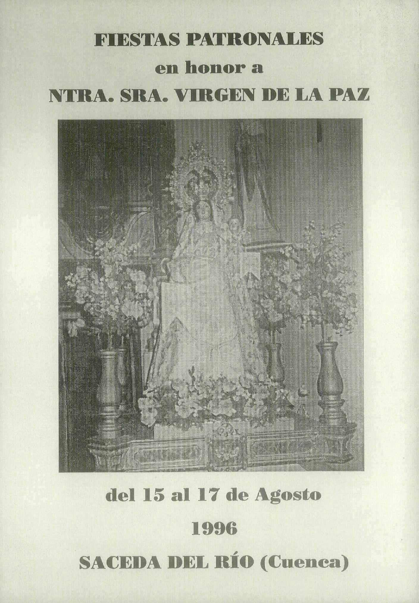Resultado de imagen de Nuestra Señora Virgen  de la paz  Saceda del Rio (Cuenca)