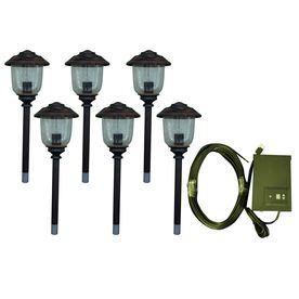 Portfolio 12 Light Bronze Low Voltage Path Light Landscape Light