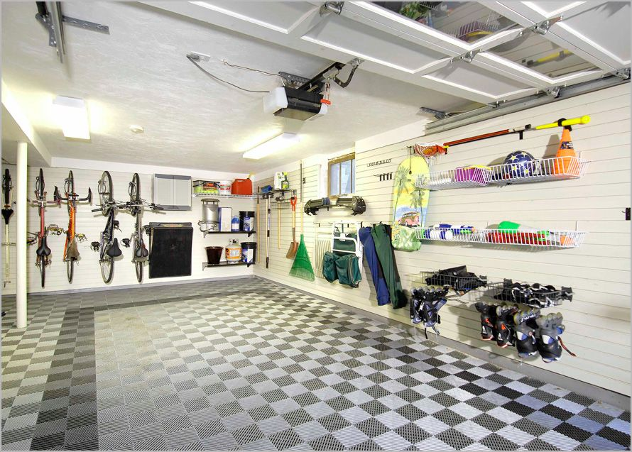 organizing basement ideas