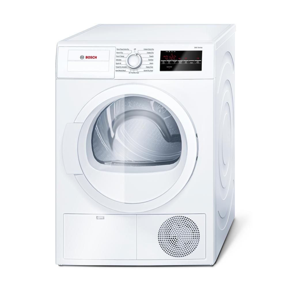 Bosch 300 Series 24 In 4 Cu Ft White Electric Condensation