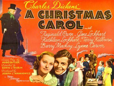 A Christmas Carol (1938 film) | Movie Posters I Love | Pinterest ...