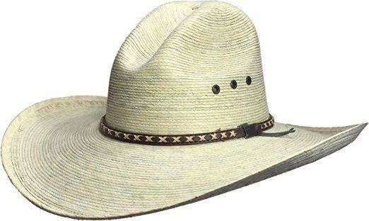 BULL-SKULL HATS Palm Leaf Cowboy Hat daf56c6b0d43