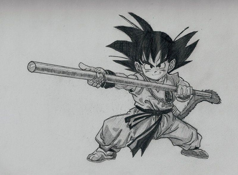 Kid Goku By Youngtalent93 On Deviantart Kid Goku Goku Kids