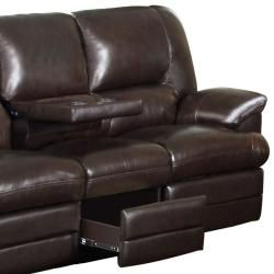 Beautiful Coney Coffee Italian Leather Reclining Sofa And Recliner Chair