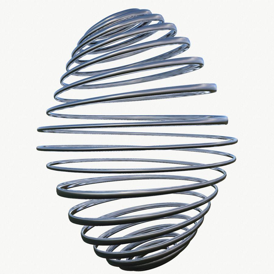 Metal Spiral Spring 3d Model 9 Unknown Stl Obj Fbx C4d 3ds Free3d Spiral 3d Model Stl