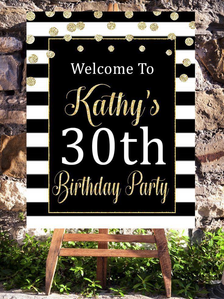 30th Birthday Decorations Dirty Thirty Dirty 30 30th Birthday
