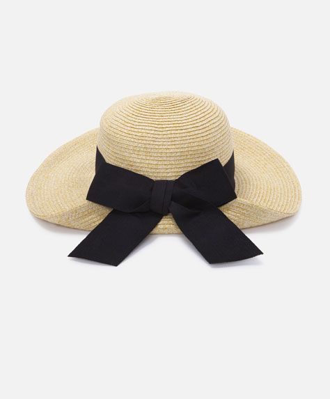 Hat with bow  c3ac92198b4