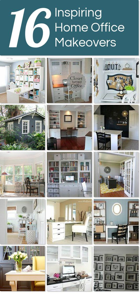 home office makeovers. 16 Inspiring Home Office Makeovers | Hometalk