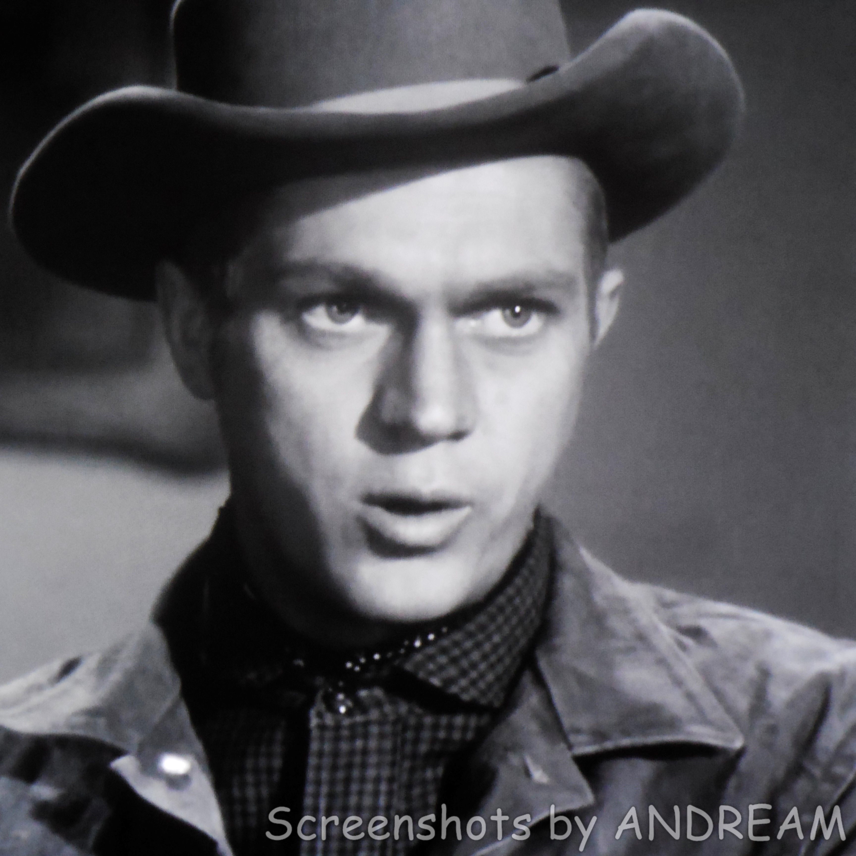 Steve McQueen, Guest Star 'The Brothers' (1958) TRACKDOWN
