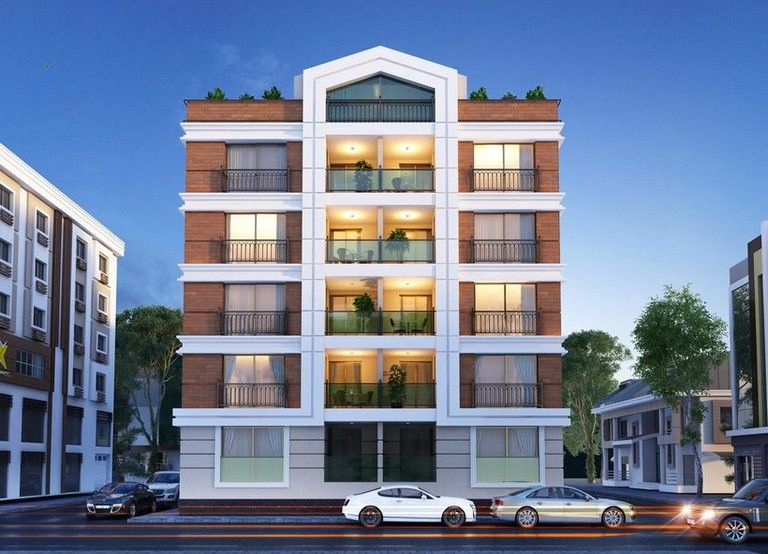 There Are A Great Deal Of Design Flat Building Facade Architecture