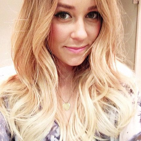 Lauren Conrad Reveals Why She Dyed Her Hair Blonder | Blonde ombre ...