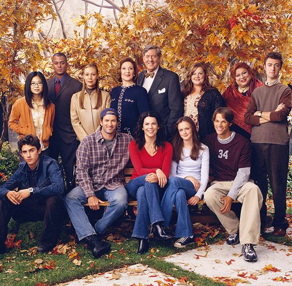 Gilmore Girls Cast Then And Now Gilmore Girls Elenco De