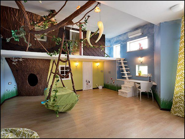 Tree House Bedroom Design Ideas Treehouse Theme Bedrooms Backyard Themed Kids Rooms Cat Decor Dog Bugs And Critters Camping