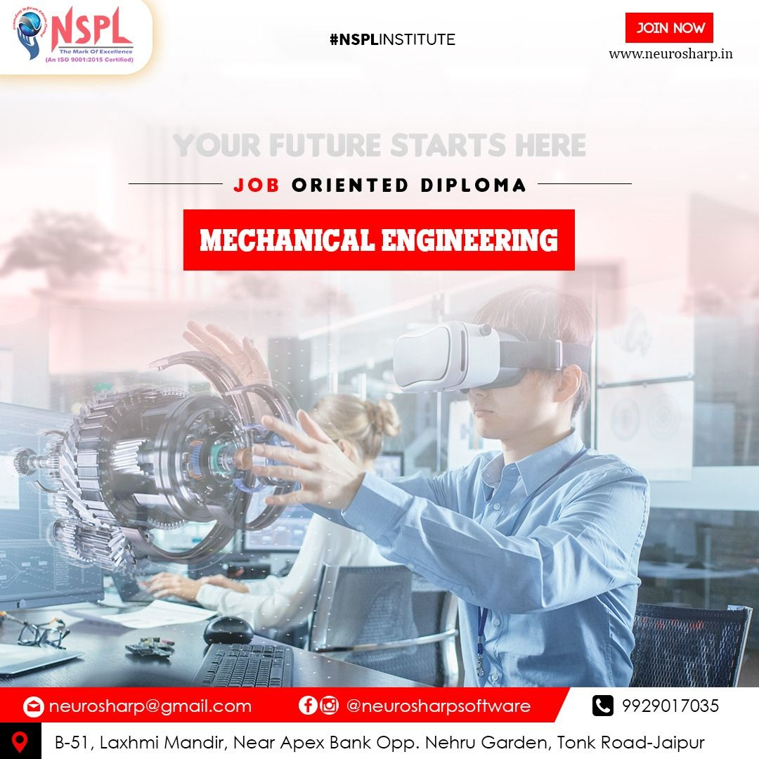 Mechanical Engineering Is The Discipline That Applies Engineering