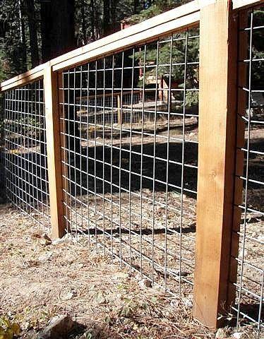 17 Fantastische Hog Wire Fence Design-Ideen für Ihren Garten