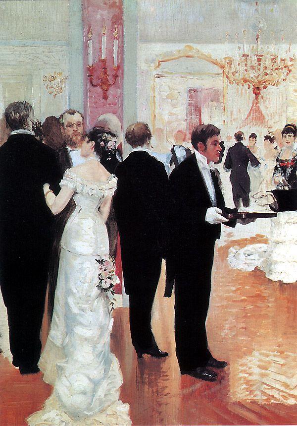 The Wedding Reception Jean Georges Braud 1900 Art Pinterest