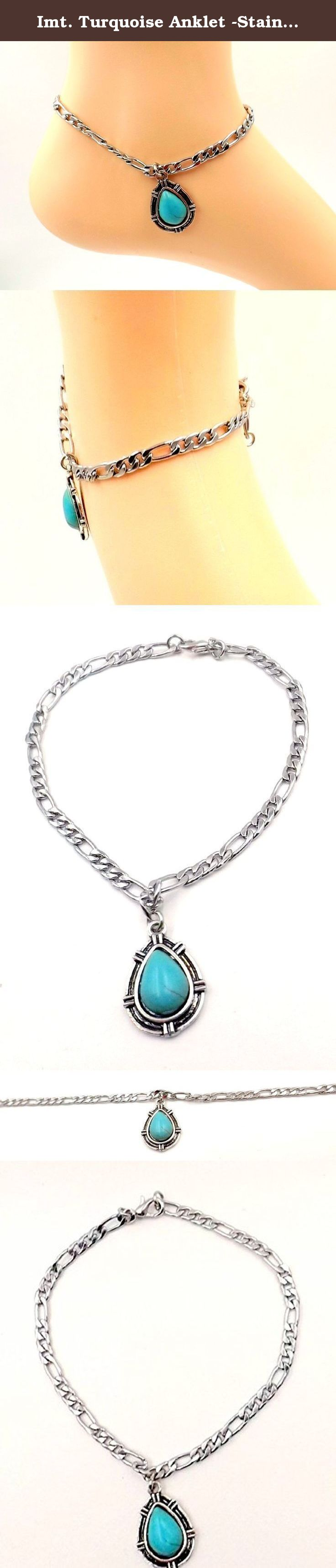 nickel sizes sterling box inch beaded station anklet silver italy italian chain free necklace
