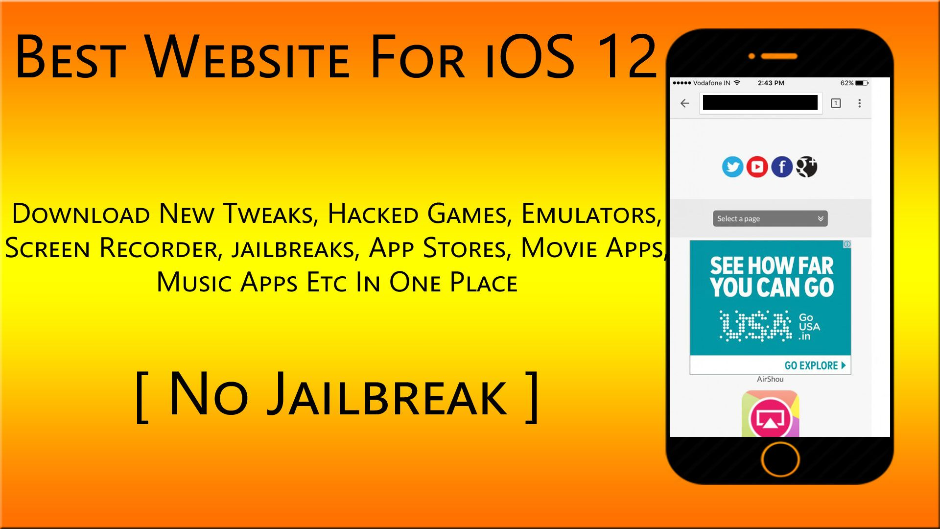 Awesome Website For Ios 12 To Get Tweaks Emulators No