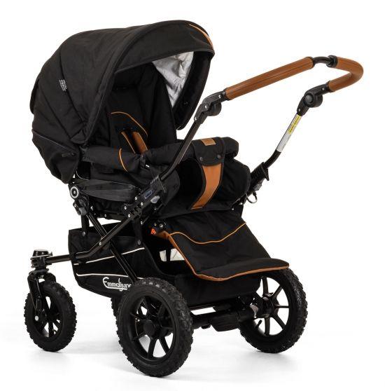 emmaljunga 2017 super nitro outdoor black baby baby. Black Bedroom Furniture Sets. Home Design Ideas