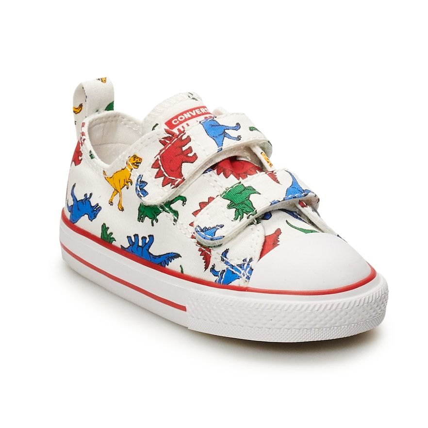 Boys' Converse Chuck Taylor All Star 2V Dinoverse Sneakers