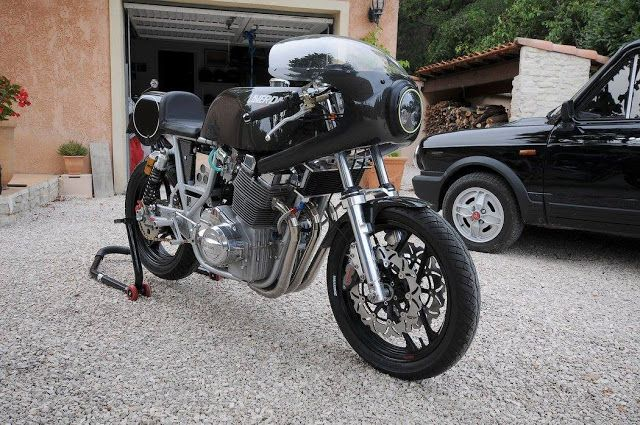 12XX Unphased project - Projet 1200 Laverda lightweight